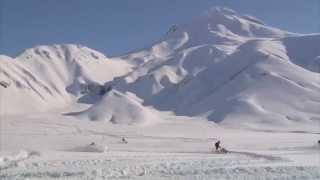 SkiDooKing Kamchatka -- Сафари на снегоходах(Сафари на снегоходах Ski-Doo к кратеру вулкана