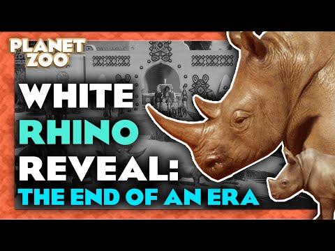 White Rhino Reveal - Planet Zoo News