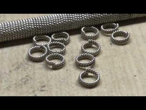 Как сделать серебряный браслет «ОРЕХ»? How to make a silver bracelet?