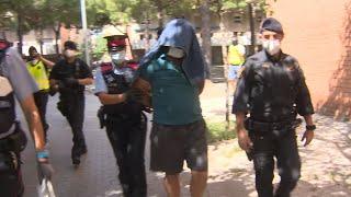 La célula yihadista detenida en Barcelona pretendía atentar con explosivos