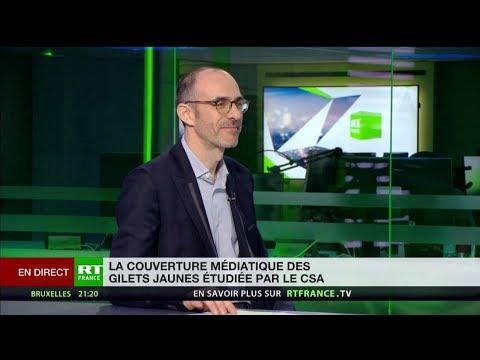 La couverture des Gilets jaunes par RT France évoquée lors de la réunion du CSA