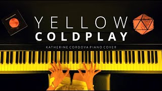 Coldplay - Yellow (HQ piano cover) видео
