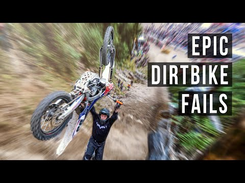Epic Dirt Bike Fails | %99 Fails %1 Skills