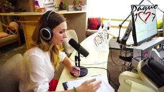 Estrella Moretti en la radio 107.7 ⭐Como aprender un idioma y como sobrevivir en el extranjero
