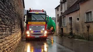 Convoi Cayon FR traversée de Aignay le duc by lcd prod de véhicule pilote