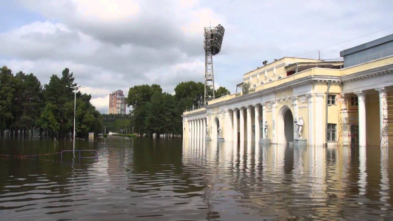 Наводнение В Хабаровске. Фото