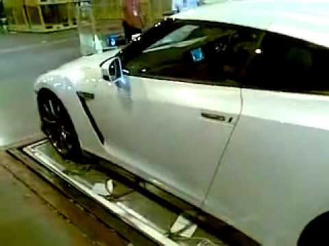 GTR R35 @Cargo thailand to Delivery thai customer   YouTube