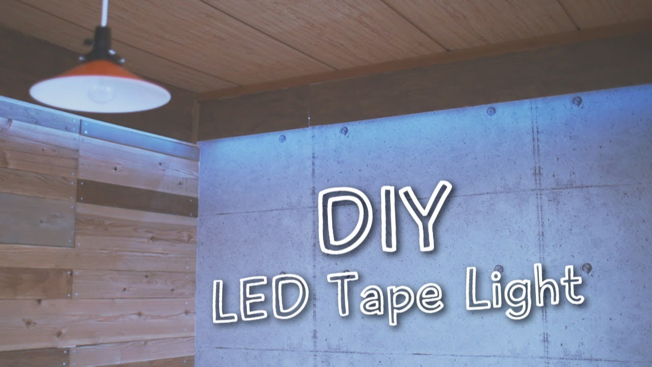 DIYLEDIndirect lighting with led tape