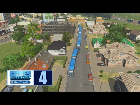 Let's Play | Cities Skylines | Bus congo line
