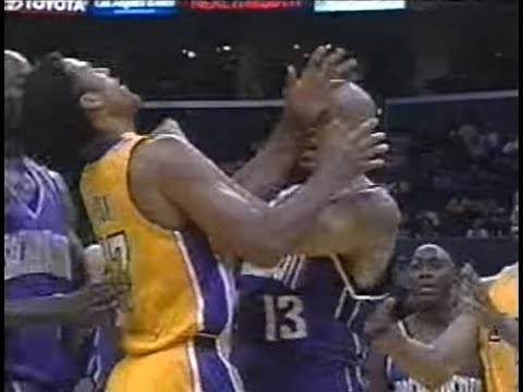 Doug Christie Uppercuts Rick Fox (Sportscenter Highlights)