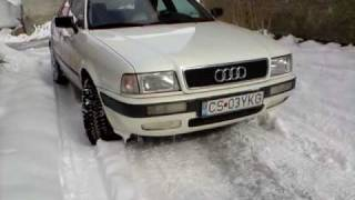 Audi B4 in snow(, 2009-02-23T12:03:50.000Z)