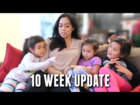 10 Week Pregnancy Update - 1st Ultrasound and Telling the Girls!