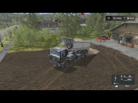 Building parking lot | Lawn Care | Farming Simulator 2017 | Episode 28
