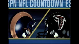 NFL 2K5 St. Louis Rams Franchise - gm 2 vs Atlanta Falcons