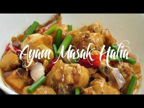Resepi Ayam Masak Halia Sedap
