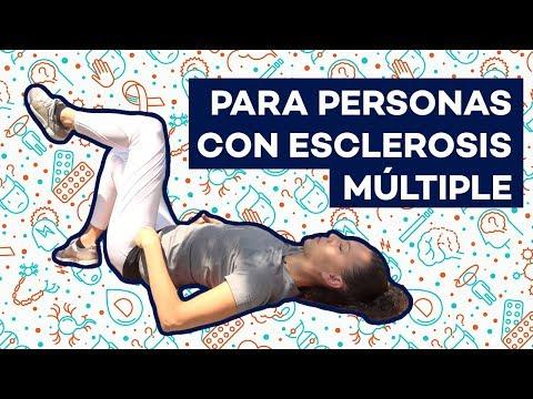 Ejercicios para personas con esclerosis múltiple | Lydia Delgado