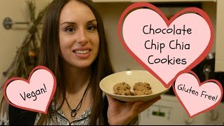 Chocolate Chip Chia Cookies (healthier, Vegan, And Gluten Free)