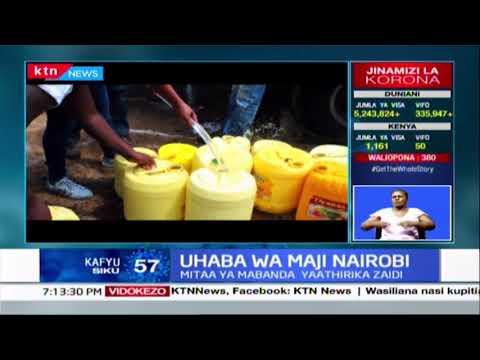 Uhaba wa maji Nairobi : Mitaa ya mabanda yaathirika zaidi