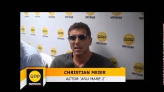 Nota a Christian Meier en 'RPP Noticias'