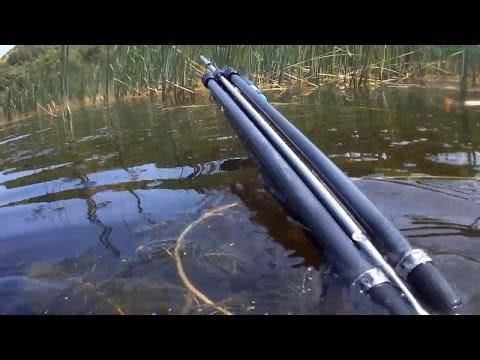 Подводная охота 2013, камера на маске