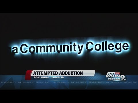 Attempted kidnapping at Pima Community College