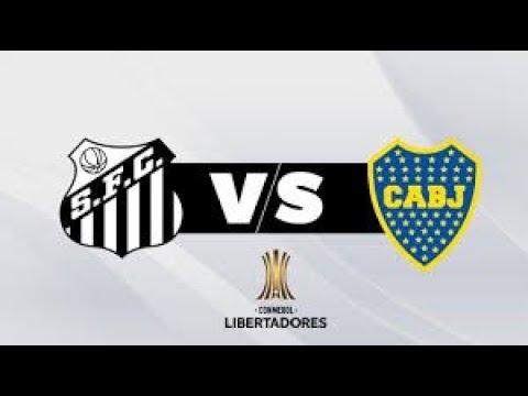 Santos VS BOCA JUNIORS* COPA LIBERTADORES* JORNADA 4 DE 6