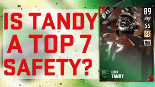 MUT Reviews | Keith Tandy | Madden 17 Gameplay Tips