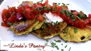 ~summer Squash Garden Fritters With Linda's Pantry~
