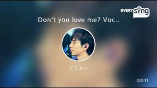 [everysing] Don't you love me? Vocal:Jun Matsumoto