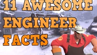 TF2: 11 Awesome Engineer Facts