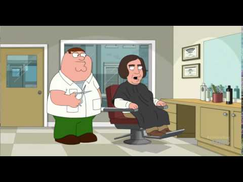 Family guy javier bardem haircut