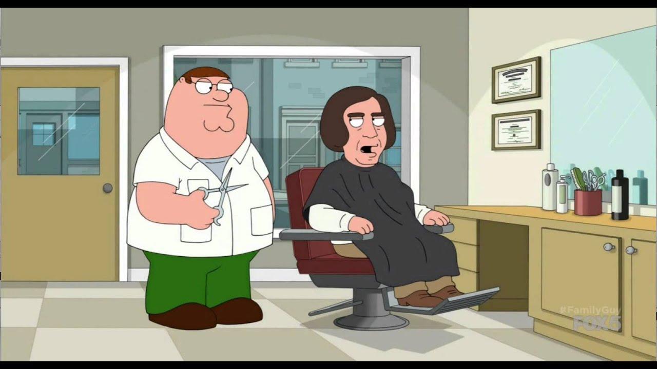 Family Guy Javier Bardem Haircut