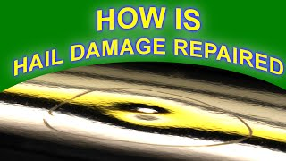 How is Hail Damage Repaired with Paintless Dent Removal