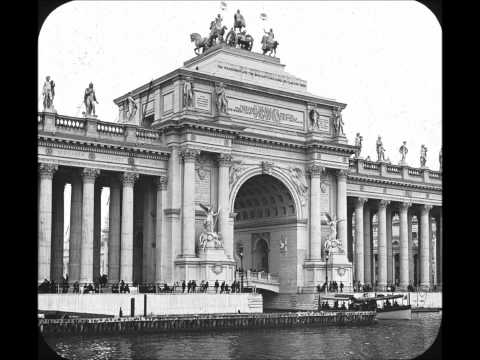 1893 Columbian Exposition Chicago Il.  A  Photo Montage