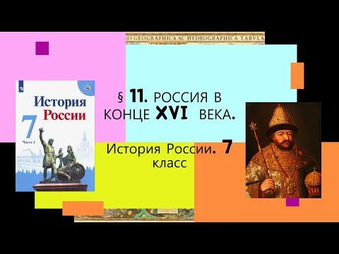 Видео уроки по истории 7 класс история россии данилов косулина