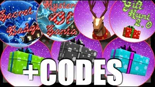 How to get ALL THE SECRET BADGES plus CODES | Christmas Tycoon | ROBLOX