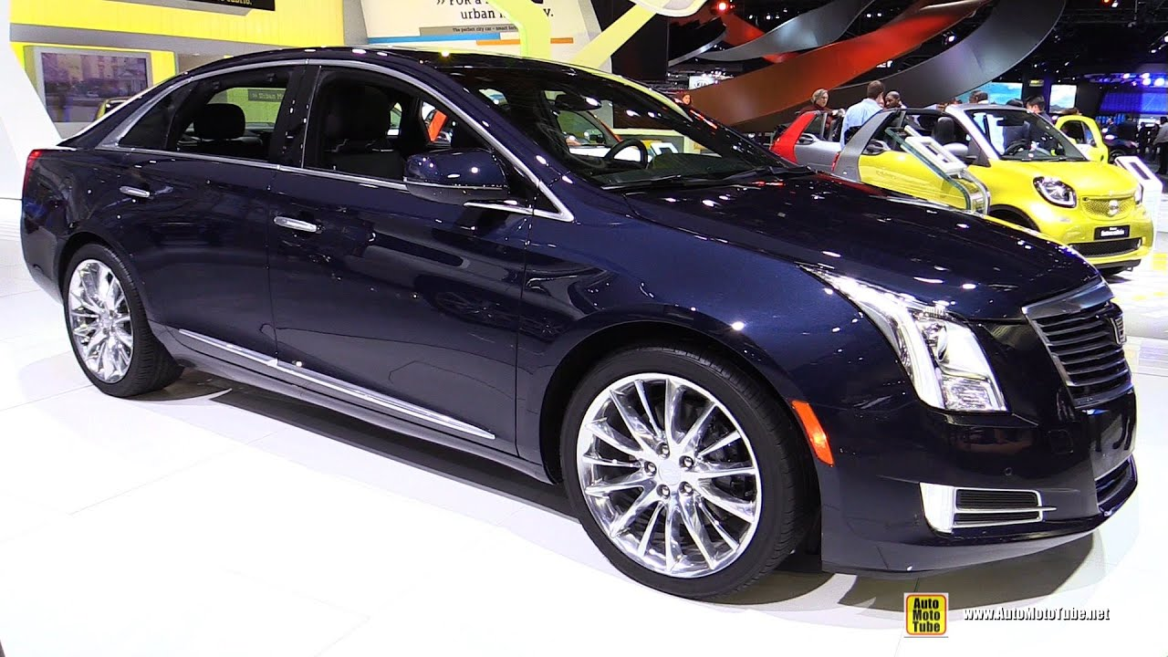2016 cadillac xts 4 exterior and interior walkaround 2016 detroit auto show youtube. Black Bedroom Furniture Sets. Home Design Ideas