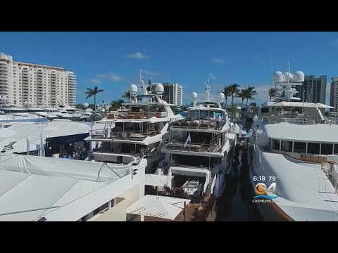 Boat Show Takes Over Ft. Lauderdale