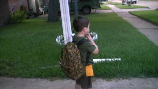 Aric's  First Day Of School Thumbnail