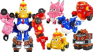 Download Larva Rangers insect 5 combination transform robot! Help Bugs Ninja!   DuDuPopTOY Mp3 and Videos