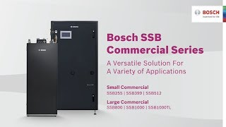 Bosch Commercial SSB Series - Overview