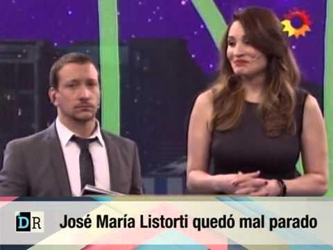 Jose Maria Listorti queda mal parado x su mujer 05 10