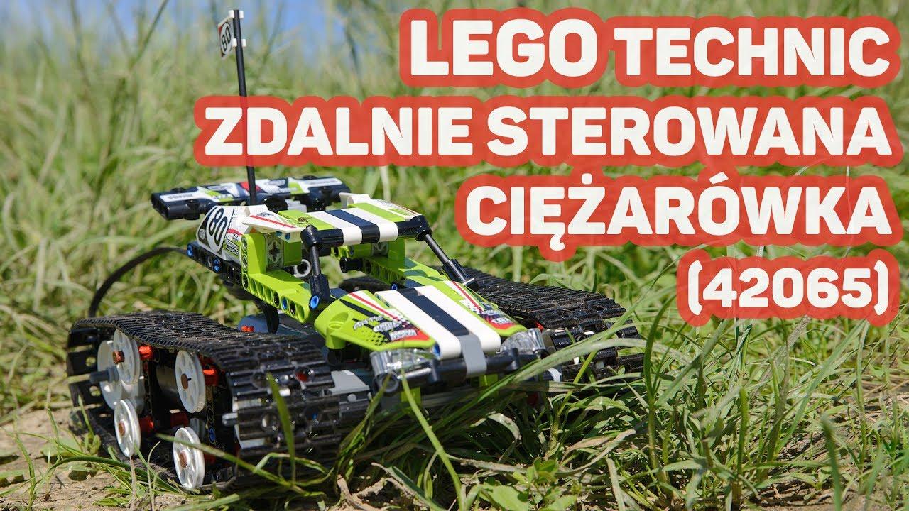 Lego Technic Zdalnie Sterowana Wyścigówka 42065 Youtube