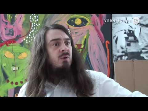 Jonathan Meese at de la Cruz Collection Miami