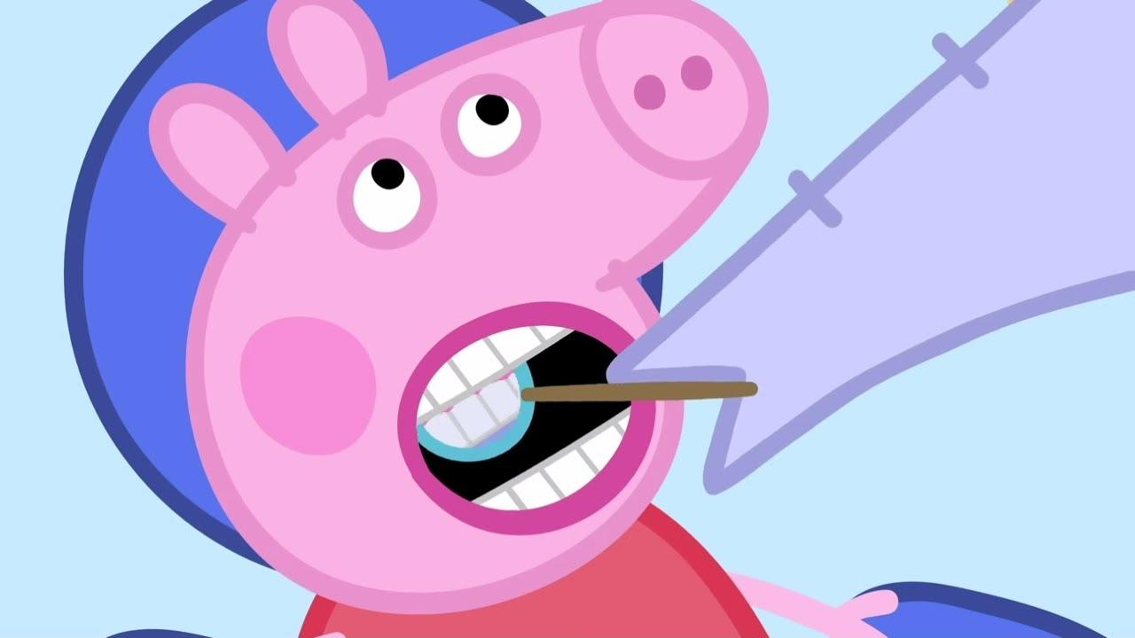Peppa Pig Portugues Brasil O Dentista Hd Desenhos