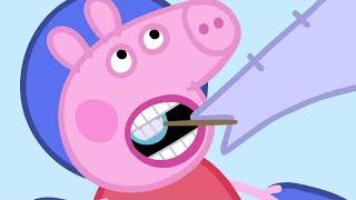 Peppa Pig Português Brasil | O Dentista 🦷 | HD | Desenhos Animados