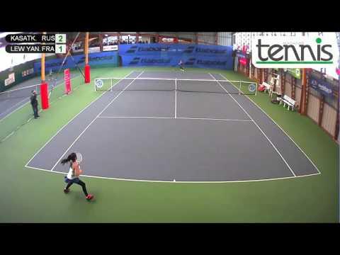KASATKINA (RUS) vs LEW YAN FOON (FRA) - Open Super 12 Auray Tennis