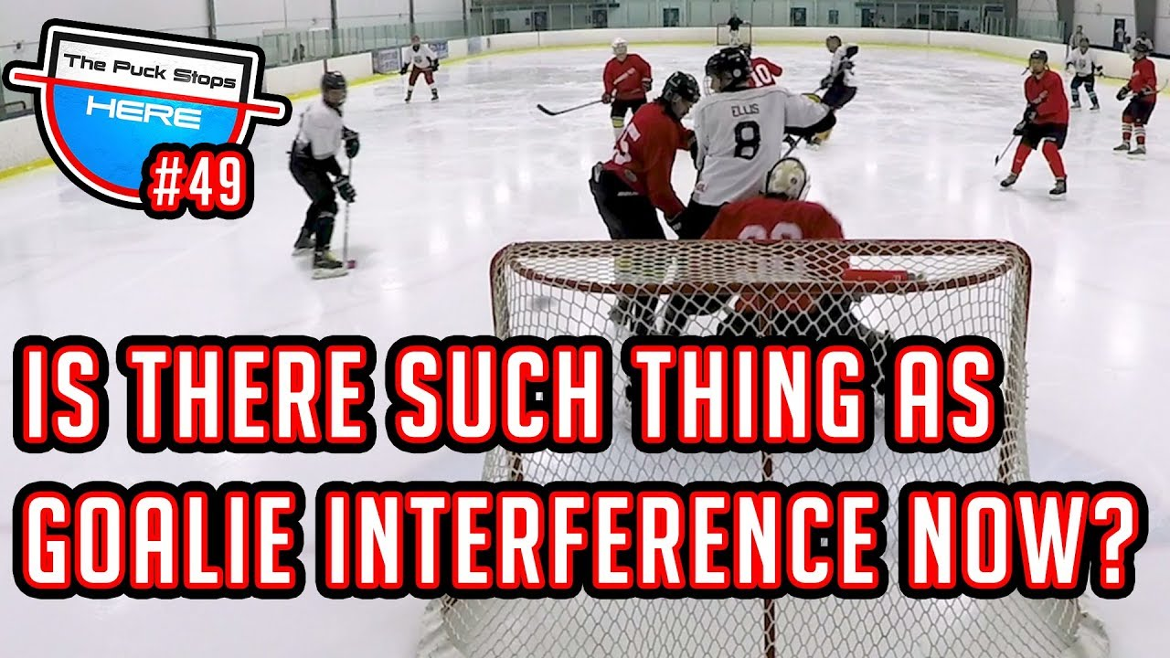 Goalie Interference No Longer Exists In Hockey Gopro Hockey Goalie