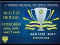 II Torneo Provincial de Fútbol Infantil CAJUU 2017 - Jueves 20/7 - Turno Mañana