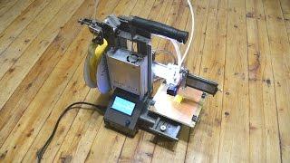Делаем 3D принтер. Грабли, косяки, выводы.